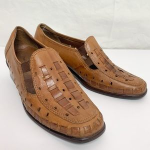 Naturalizer / Woven Leather Huarache Style Shoes
